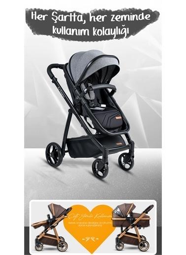 Baby Home Baby Home 955 Travel Sistem Bebek Arabası Anne Yanı Sepet Beşik Renkli